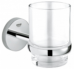 Стакан настенный GROHE Essentials 40372001 + держатель 40585001